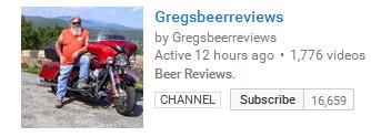gregs beer reviews yt