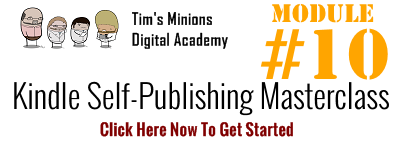 kindle self publishing masterclass